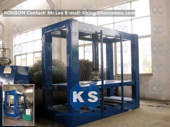 Customized Automatic Gabion Mesh Machine Hexagonal Wire Gabion Netting Production Line