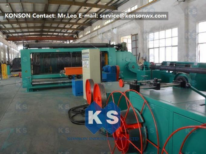 Automatic 4.3m Gabion Making Machine Of Hexagonal Wire Netting