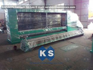ประเทศจีน 4300mm Max Width Gabion Machine Automatic Hexagonal Wire Mesh Line ผู้ผลิต