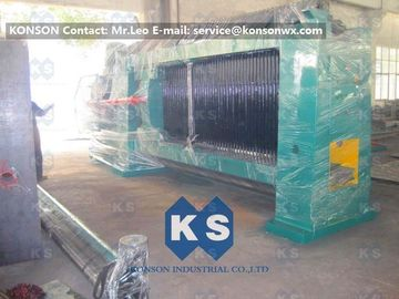 ประเทศจีน Wire 2.7mm Gabion Mesh Machine Straight and Reverse Twisted Wire Mesh Machinery ผู้ผลิต