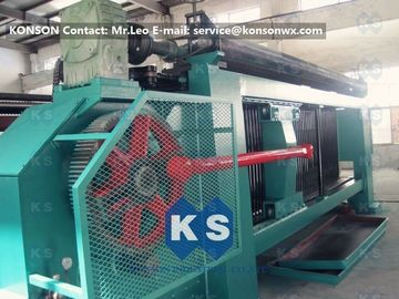 ประเทศจีน Industrial Gabion Production Line Twist Mesh Welded Machine 80 X 100mm Width 4300mm ผู้ผลิต