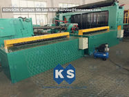 ประเทศจีน 5kw Automatic Wrapped Edge Gabion Machine Edge Wrapping Machine 4 Meter โรงงาน
