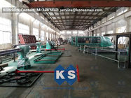 SGS Hexagonal Wire Mesh Machine For Heavy Duty Stone Gabion Box 3 X 1 X 1m