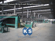 ประเทศจีน Heavily Galvanized Galfan And PVC Coated Hexagonal Wire Mesh Making Machine โรงงาน