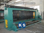 ประเทศจีน Automatic Gabion Box Hexagonal Wire Netting Machine High Speed 3.5 Meter Per Minute โรงงาน