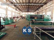 ประเทศจีน Large Mesh Gabion Box Machine For Straight And Reverse Twisted Wire Mesh Machinery โรงงาน
