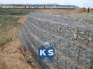 ประเทศจีน Galvanized Wire Gabion Retaining Walls Plastic or Stainless Steel Wire PE Coating Gabion Mattress โรงงาน