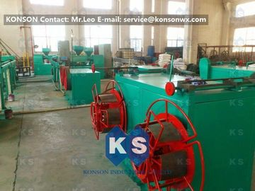 Stable Output Pvc Coated Gabion Mesh Machine , High Speed PVC Coating Line